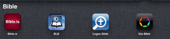 Post image for Estudiar la Biblia con un iphone o ipad